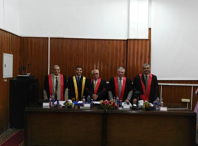 Discuss the PhD thesis engineer Nabil Mustafa