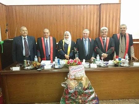PhD discuss the teacher assistant / Suad Najib