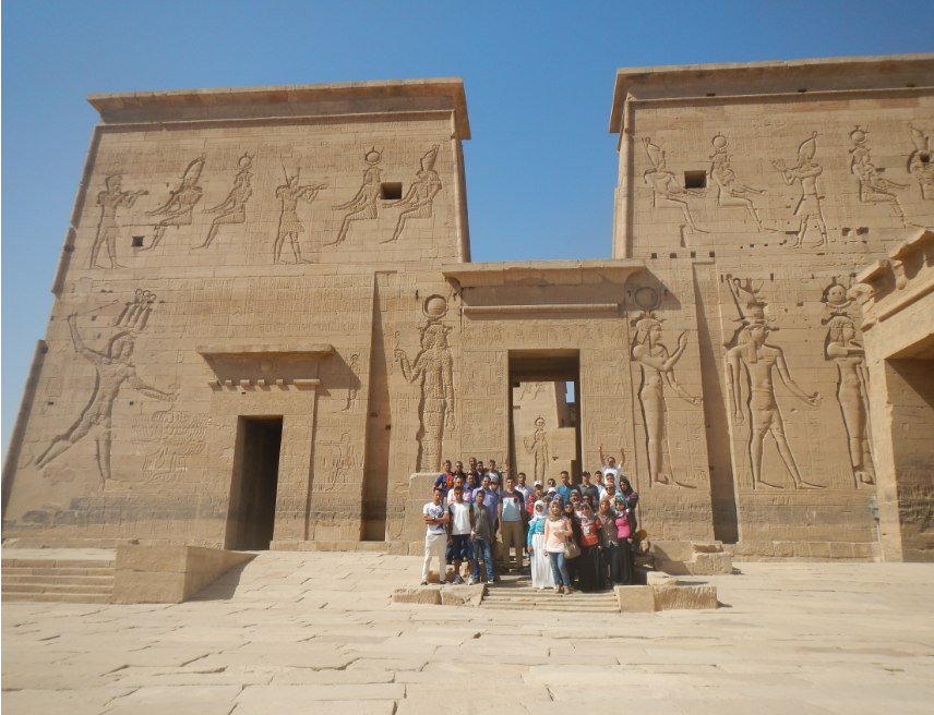 Scientific trip to the cities of Luxor and Aswan for the Department of History