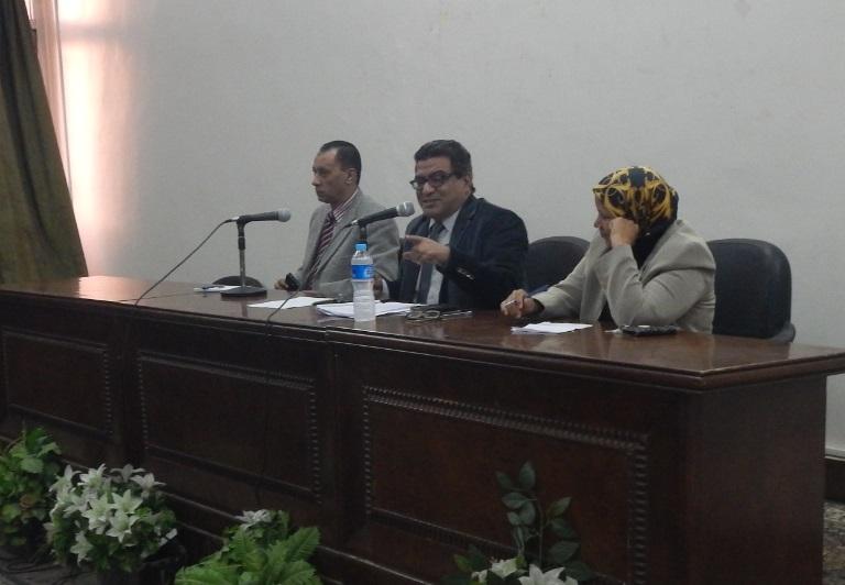 المؤتمر العام للكلية برعاية أ.د/ عماد مخيمر عميد الكلية