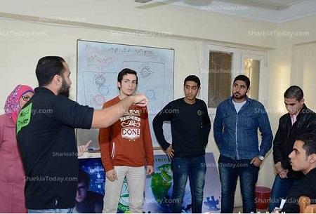 FCI Zagazig University students start courses to teach programming for free