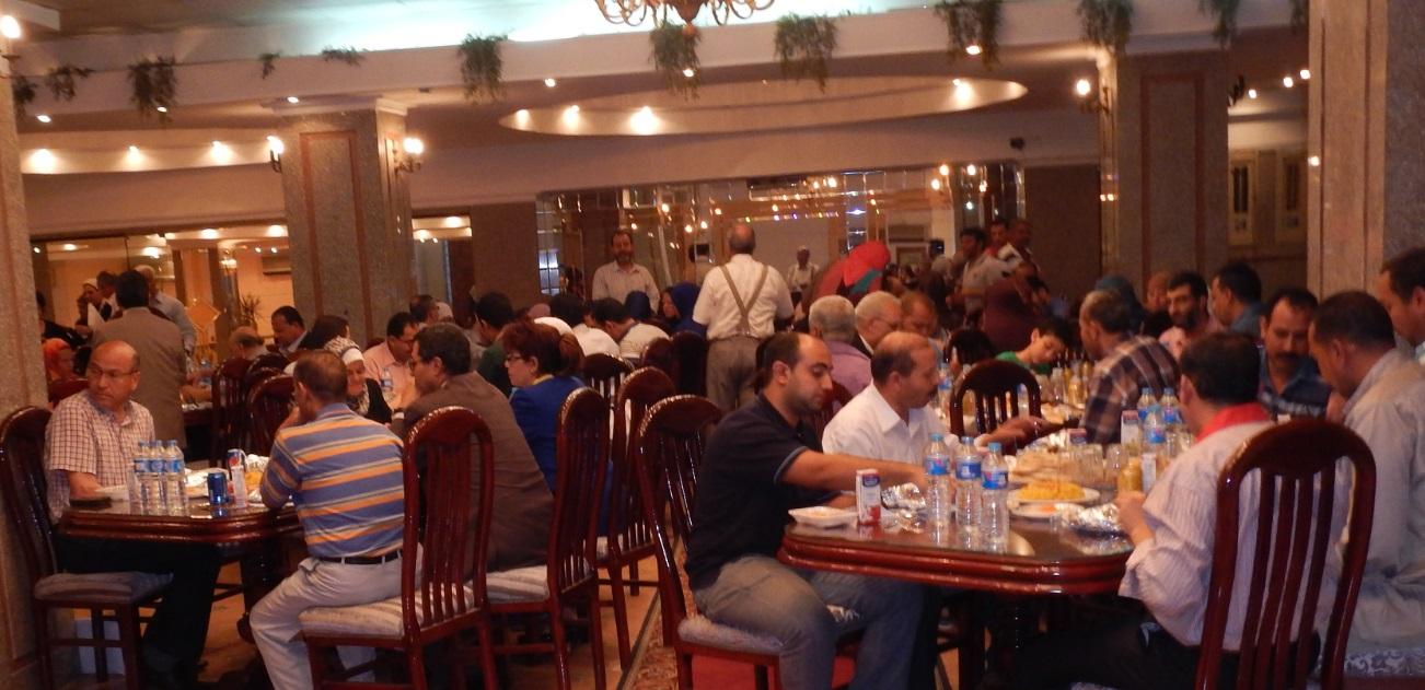 حفل افطار جماعى لكلية الاداب برعاية الاستاذ الدكتور عبدالله عسكر