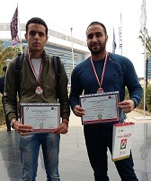 Minister of Communications honors Muhammad Hisham and Asim Suleiman third year college
