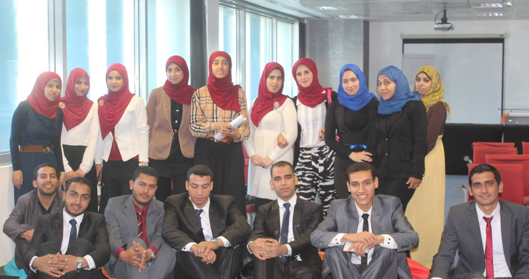 IEEE Faculty of Engineering, University of Zagazig Association harvested first and second places in the business community leadership contest