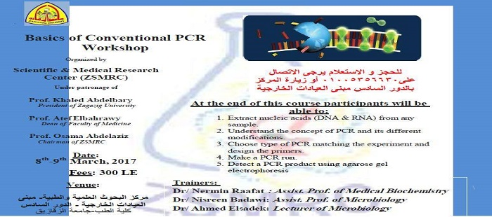Basics of Conventional PCR Workshop