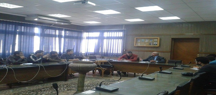 Dean of the College meeting with the Council of the Federation of Students