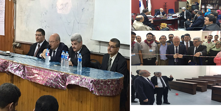 President of the Zagazig University in the round of the Faculty of Computing and Information