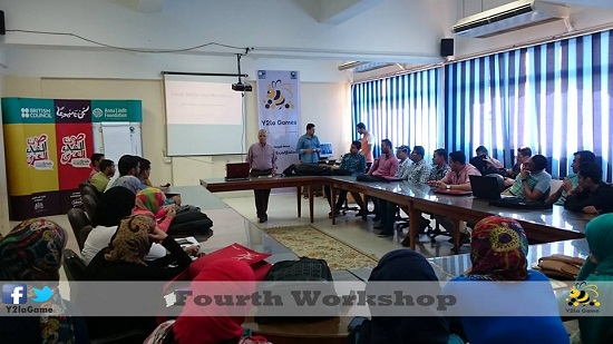 The fourth workshop for Y2la Game