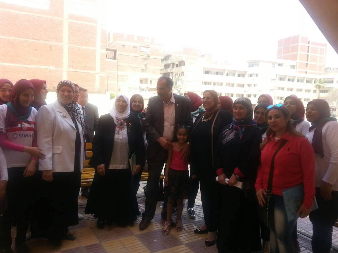 تشريف  الاستاذ الدكتور عبد الحكيم نور الدين  نائب رئيس الجامعة لشئون التعلي