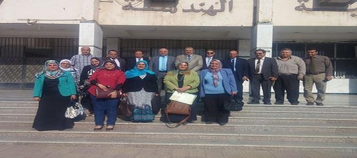 زيارة فريق من أعضاء الهيئة القومية لضمان جودة التعليم