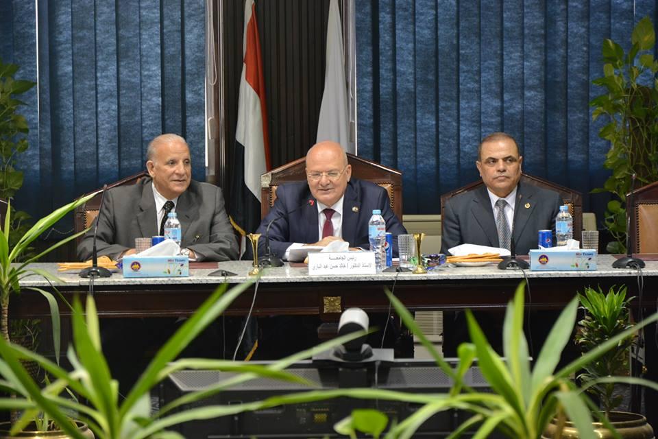 لجنة قطاع العلوم الأساسية بالمجلس الأعلى للجامعات تعقد اجتماعها اليوم بجامع
