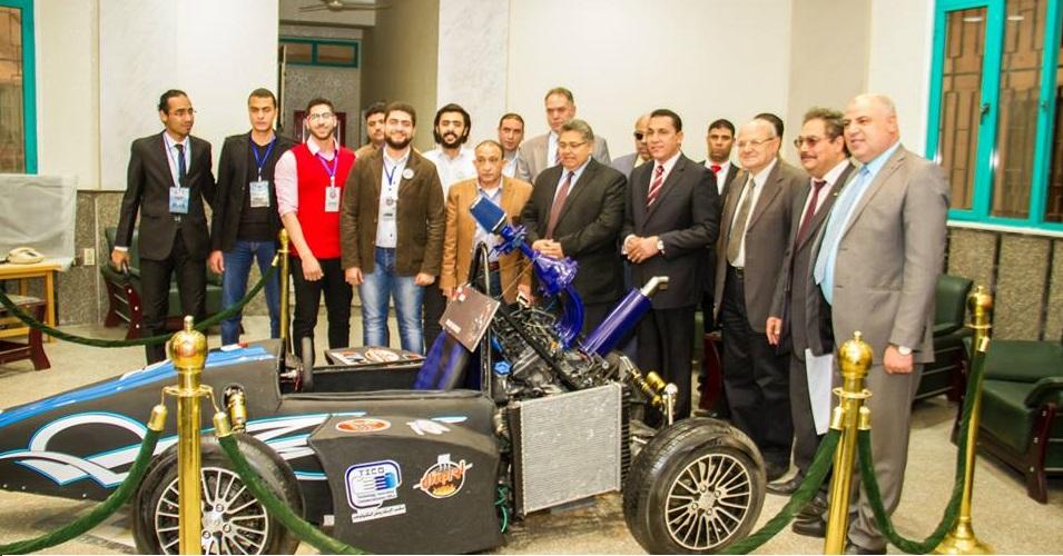 Honoring the team Formula Faculty of Engineering, Zagazig University