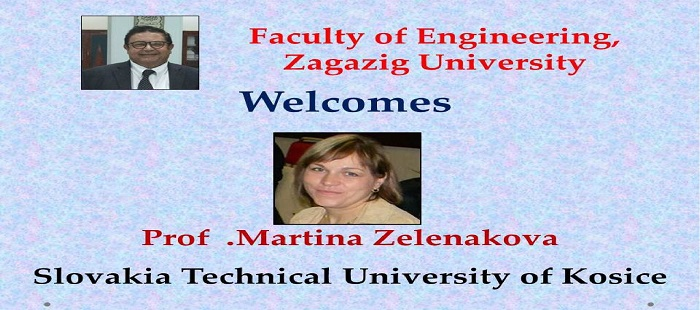 زيارة د-مارتينا الى كلية الهندسة