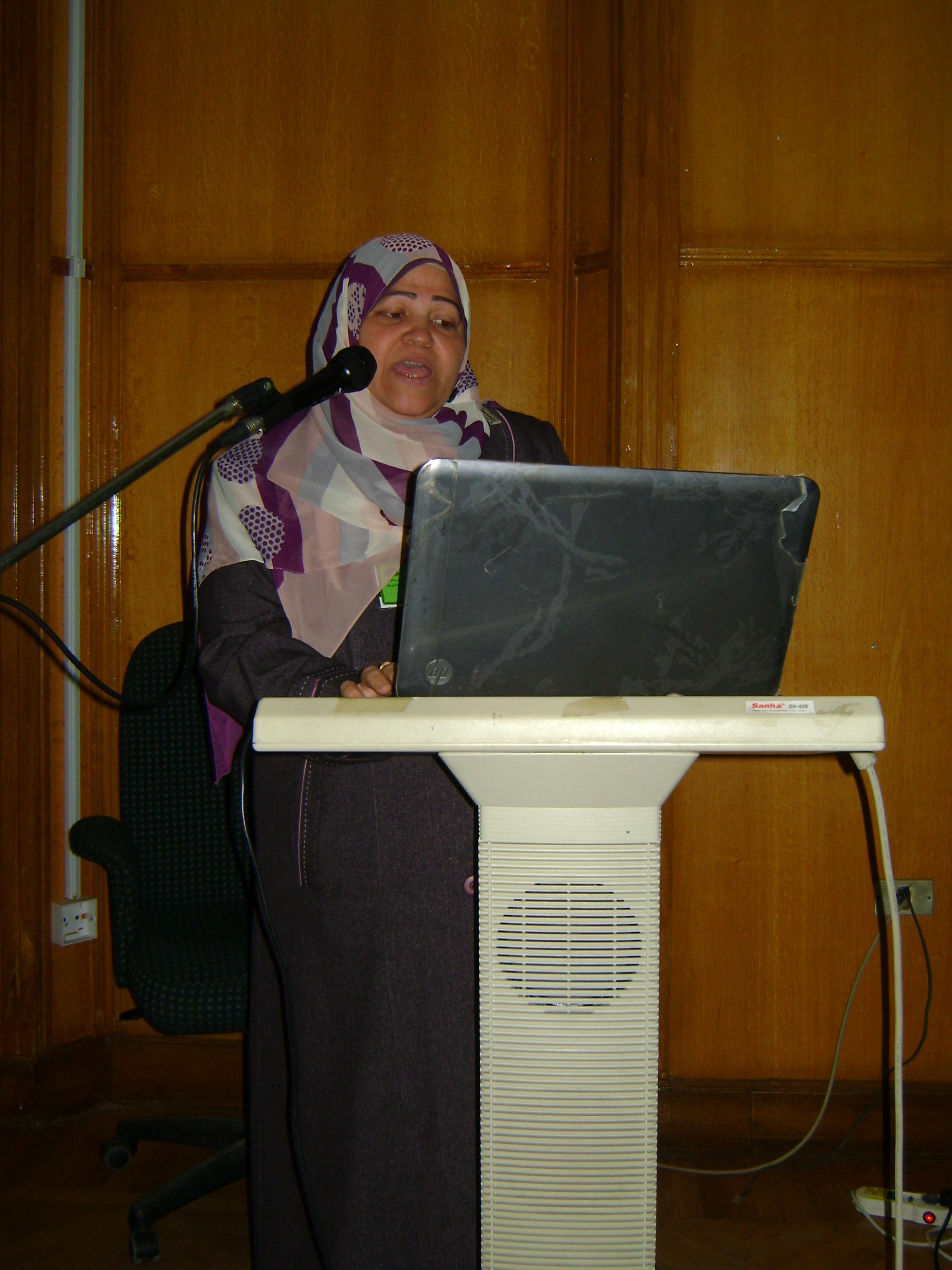 يهنئون الاستاذة الدكتورة / قاطمة جودة متولى بمناسبة حصولها على درجة استاذ م