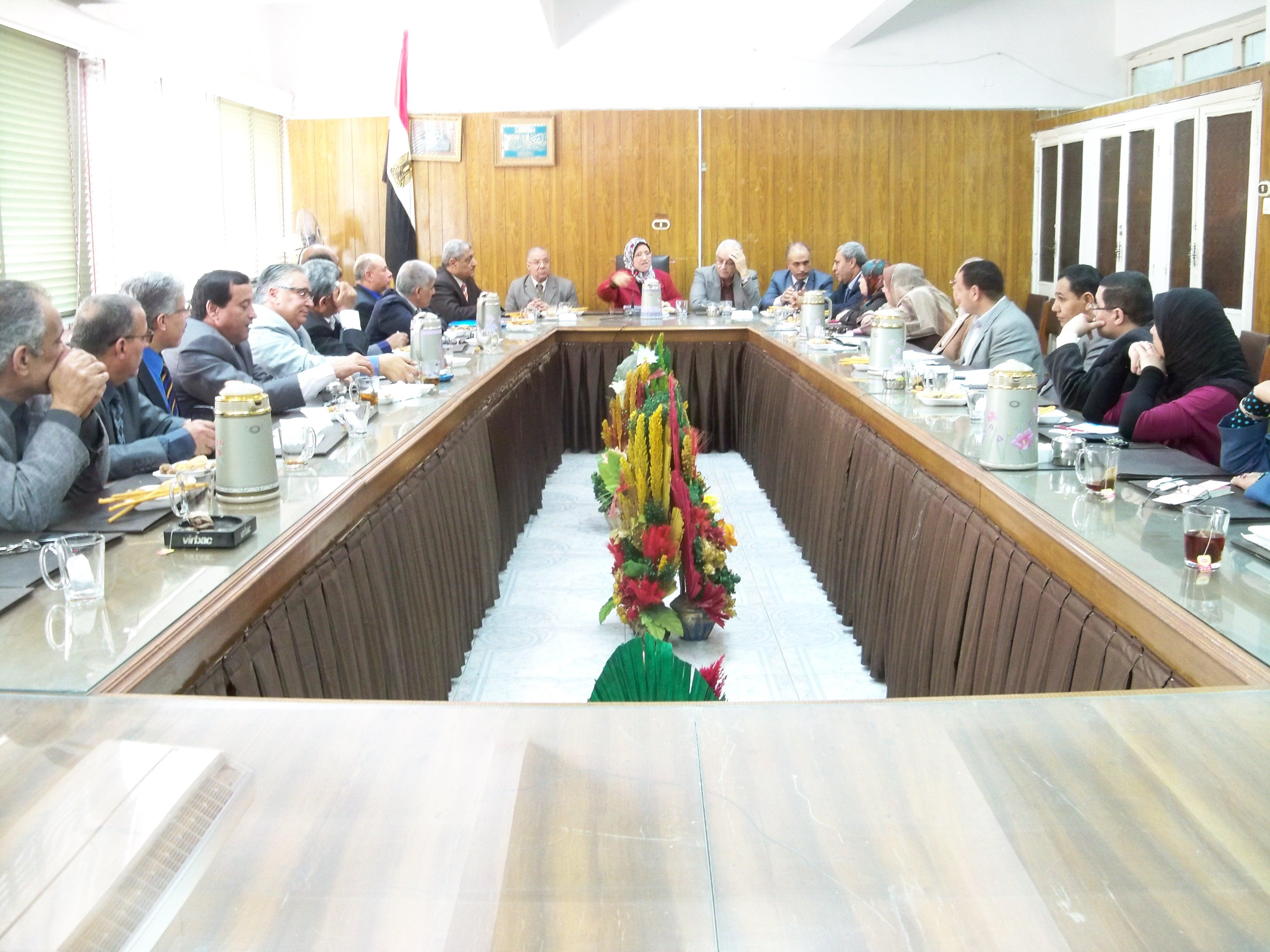 اجتماع رؤساء الاقسام مارس 2015