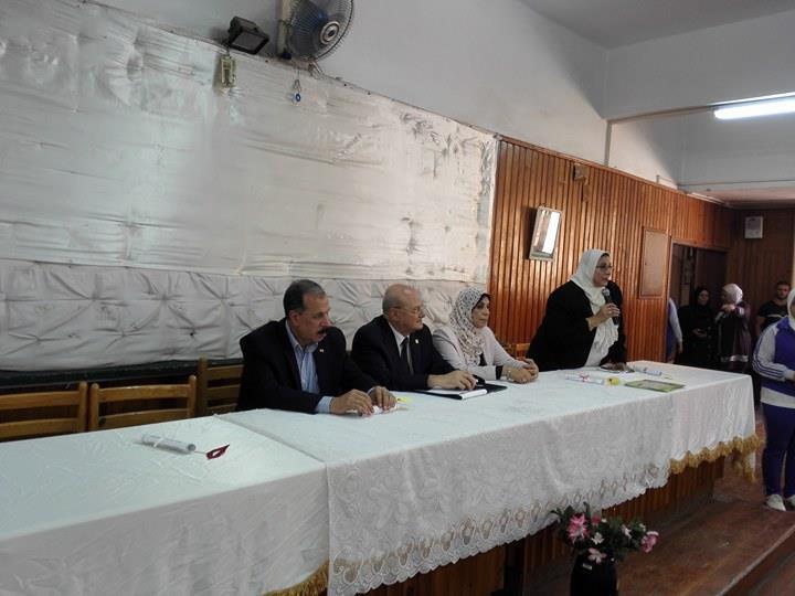 د. خالد عبد الباري رئيس جامعة الزقازيق لتفقد سير العملية التعليمية مع بدء العام الدراسي يوم الاثنين الموافق 26/9/2017